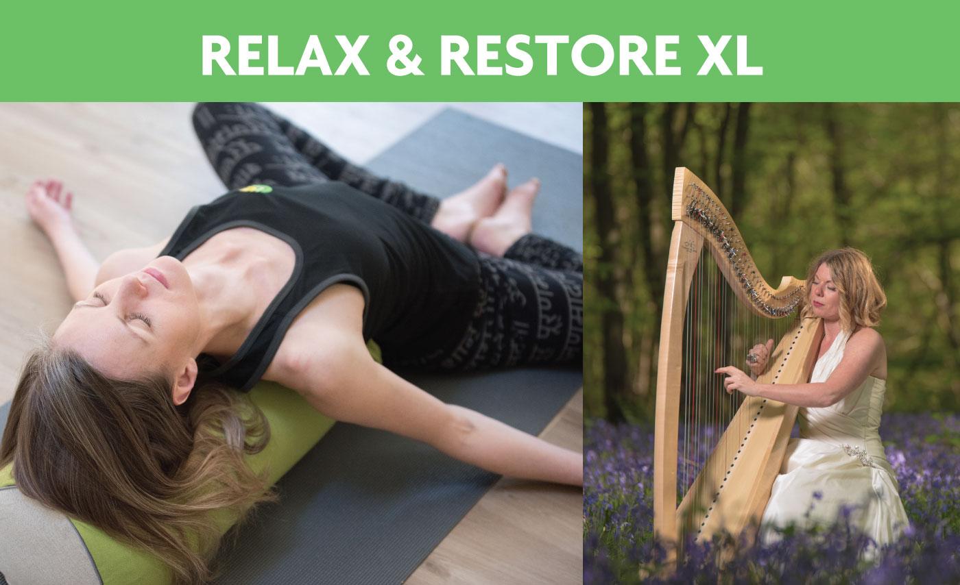 Restorative Yoga workshop with LIVE harp music