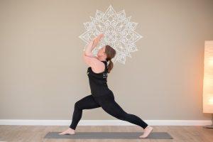 Yoga teacher at Linear Josie Sovegjarto