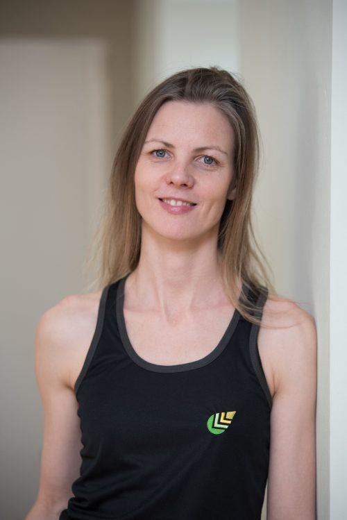 Yoga teacher Isis du Jour