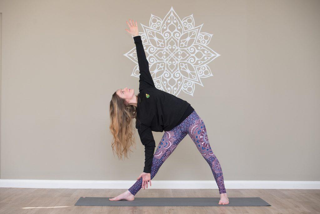 Yoga teacher at Linear Georgia Worsfold