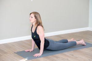 Yoga teacher at Linear Kate Anderson